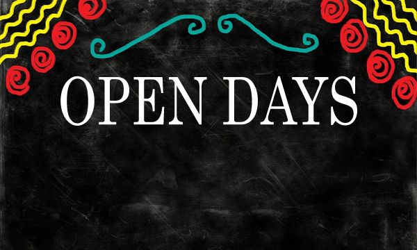 Open Days – January 2019