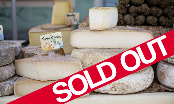 Cheese tasting – 18th October