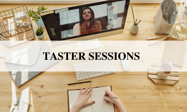 Taster sessions: learn more about our online classes!