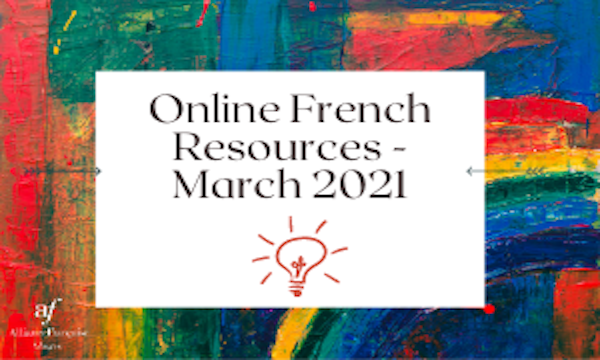 Online French Resources (March 2021)